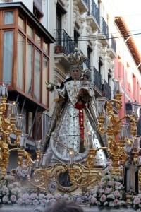 Virgen del Rosario Coronada Granada 12 de Octubre de 2013 (1)