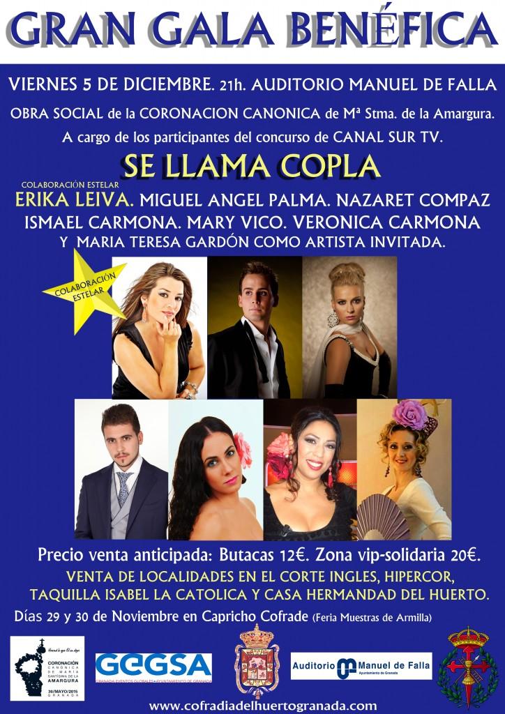 CORONACION CANONICA- Gran Gala Benefica  5 Dic AUDITORIO