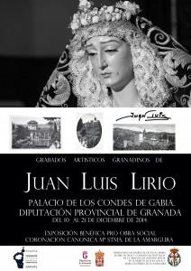 CORONACION CANONICA- Cartel en BN-GRABADOS JUAN LUIS LIRIO