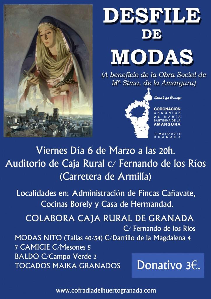 CORONACION CANONICA- DESFILE MODAS-CAJA RURAL