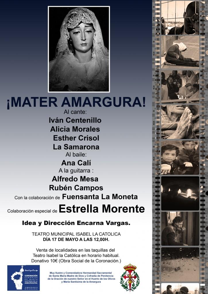 CORONACION CANONICA- CARTEL MATER AMARGURA-DEF