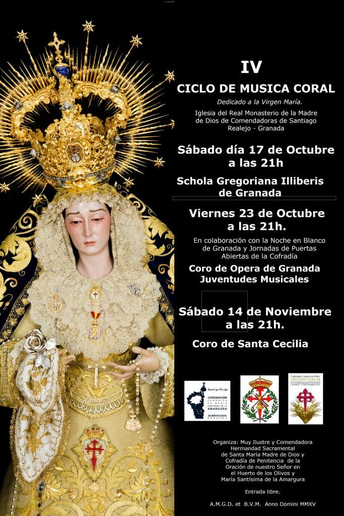CORONACION CANONICA- IV Ciclo de Musica  Coral -0ct 2015